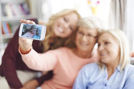 mama e hija: Vamos a tener una buena foto
