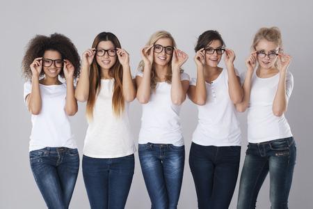 Problemen met het gezichtsvermogen kan niet onaangenaam zijn Stockfoto