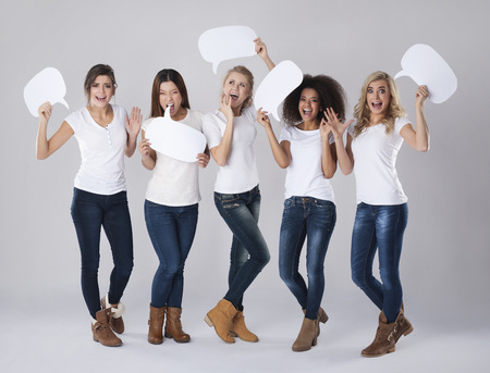 women friendship: Extreme emotion of young women