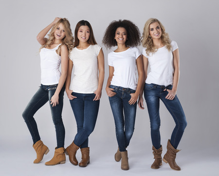 jeans woman: Natural beauty of every single woman