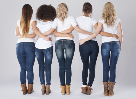Skinny jeans for everybody who wants