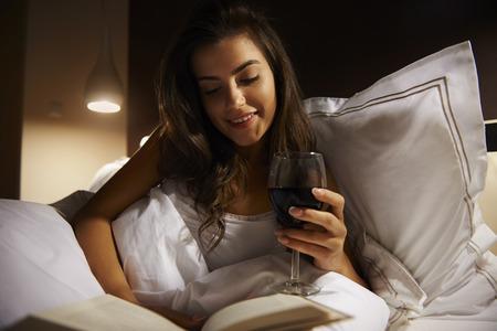 Rustig 's avonds als ik tijd alleen maar voor mezelf