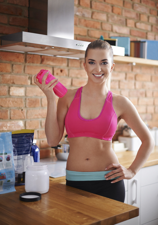 Sports nutrition can help you keep a fit photo