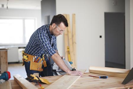 herramientas de carpinteria: Un d�a de trabajo de carpintero Foto de archivo