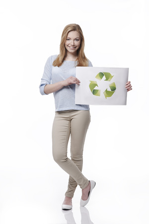 depend: Our future depend of us Stock Photo