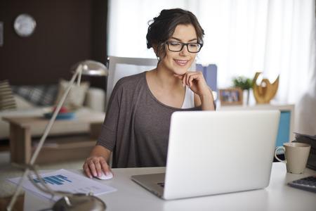 počítač: Práce doma dovolte mi, abych pro flexibilní práci