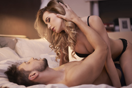 sex activity: This night will be special for us Stock Photo