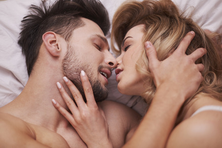 foreplay sex: The foreplay of passionate couple