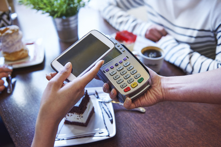 android: Paying for coffee by mobile phone