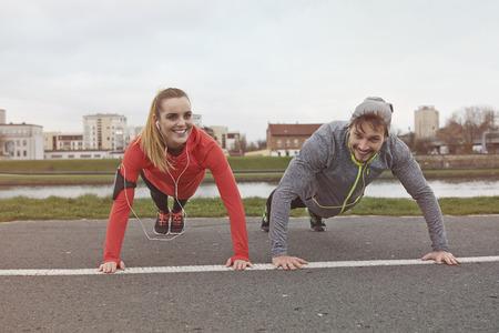 healthier: Push-ups on fresh air are healthier
