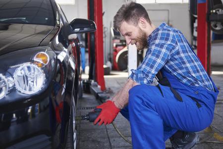 no problem: Your car need a new tire no problem