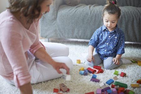 baby blocks: Building towers from blocks teaches imagination