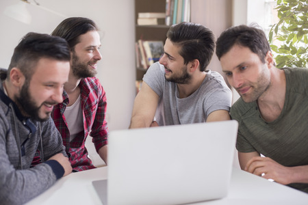 only men: They always share their ideas