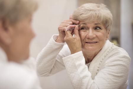 raised eyebrow: Keeping eyebrows in good shape is not easy