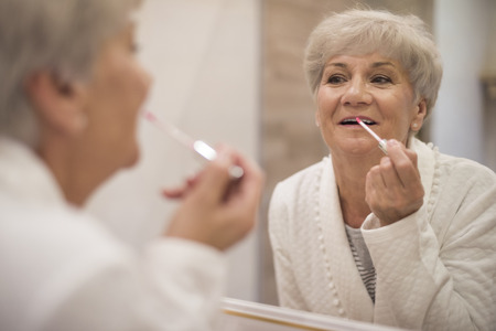 Its never too late to be attractive Stock Photo