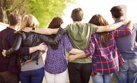 mejores amigas: La multitud de los mejores amigos