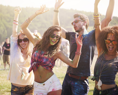 excitación: Verano, amigos y buena música!
