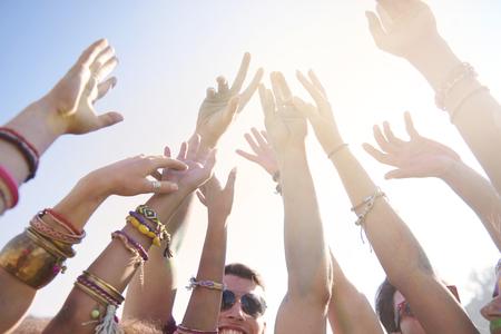 juventud: Summer festival de m�sica que atrae a mucha gente