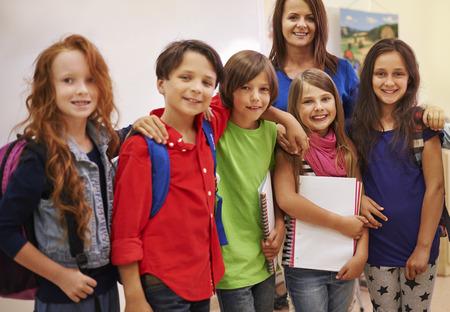pre adolescent boy: Best friends from elementary school