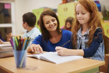 adult education: I can always count on my teacher