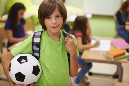 boy ball: And after school I do what I really love