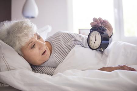overslept: Oh no! I overslept today!