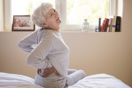 senior pain: Huge pain of my back