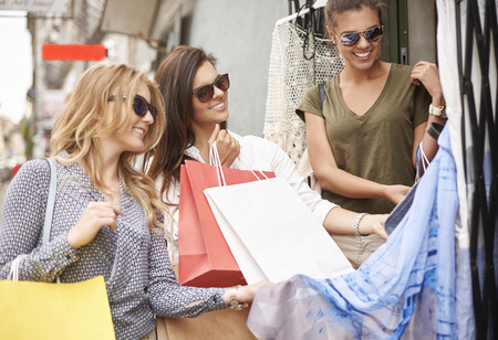 shopping buddies: Shopping with my friends always are successful