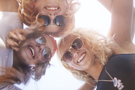 capelli lunghi: Migliori amici tengono sempre insieme