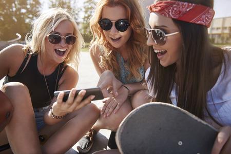 summer sport: Look for new trick on skateboard