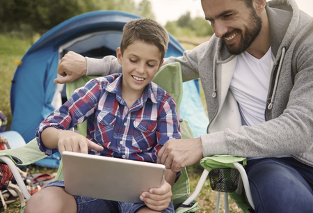 wifi internet: Wireless Internet is needed even on camping