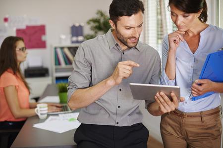 easier: Digital display makes our work easier