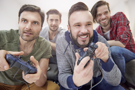 game room: Day full of emotions with my friends