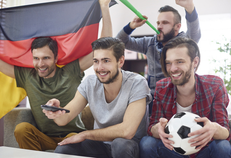 vuvuzela: Friends met to watch a match on TV