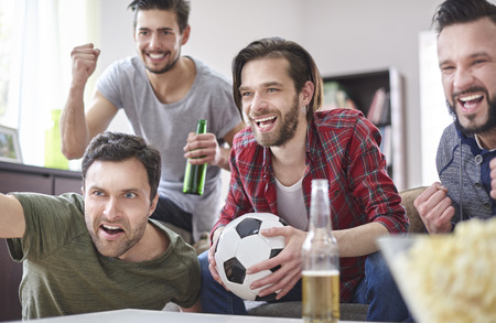 beer bottle: This soccer season belongs to us