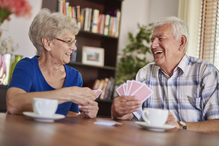 funny guys: They love spending time together Stock Photo