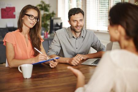 Rozhovor nového zaměstnance pro firmu