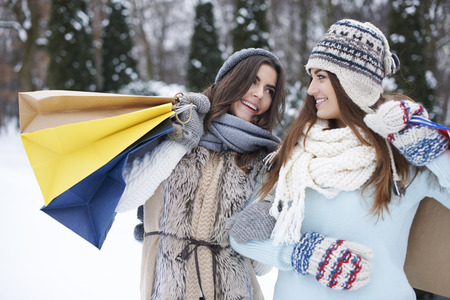 cold: Even cold weather doesnt discourge us from shopping
