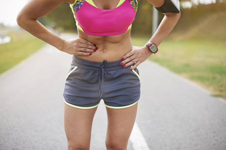 hurt: Colic is a frequent problem while jogging