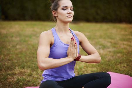 zen like: Zen like position in one of my favorite