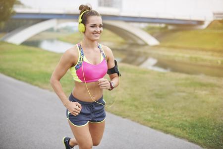sports bra: Good music and I can run anywhere
