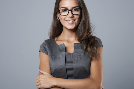 woman work: She is a professional businesswoman