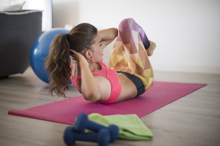 gimnasio mujeres: Estilo de vida saludable se ha convertido en mi rutina diaria