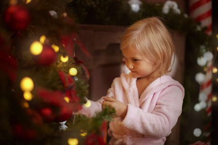 cute christmas: Christmas is a very precious time in the year Stock Photo