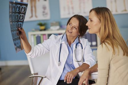 paciente: Diagnóstico dice que vas a encontrar mejor