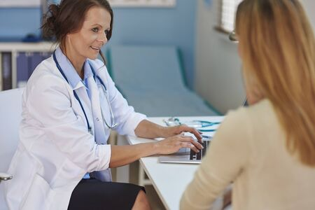 medical exam: You must have the trust to your doctor