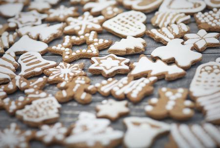 galletas de navidad: De todas las galletas están listos para ser comido