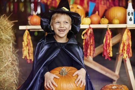 This pumpkin seems really heavy
