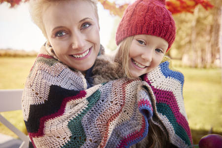 children love: Even its cold outside, we stay positive