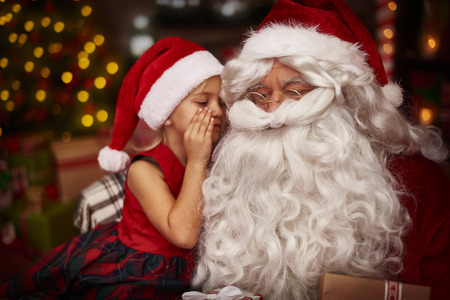 santa: This is my secret, dont tell anyone